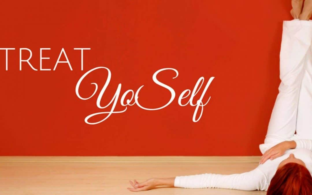 Treat Yo Self Yoga: Valentine's Day Edition