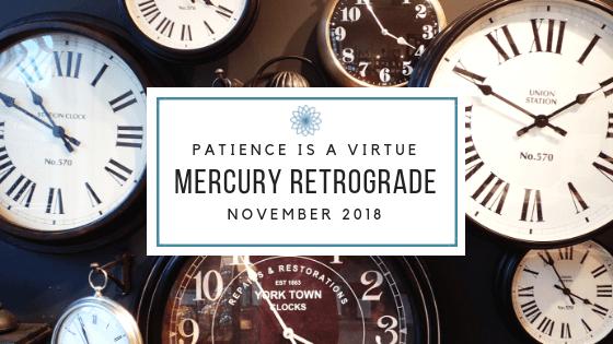 Mercury Retrograde November 2018 Survival Guide